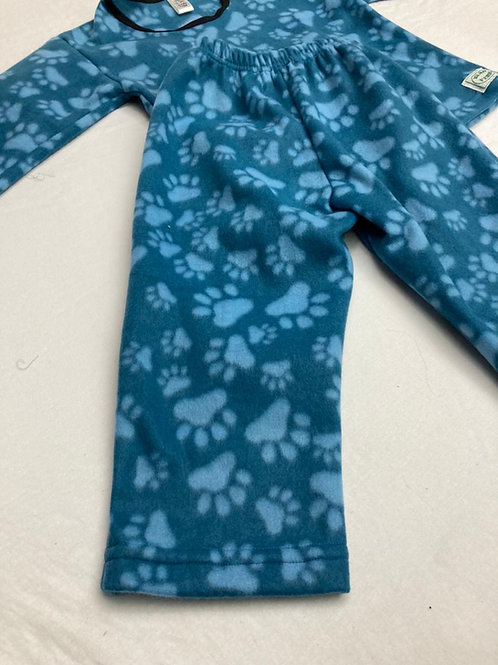 Pijama Soft Pegadas Dog