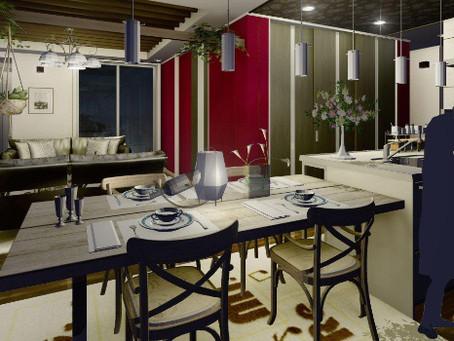 ダイニングキッチンと家具の関係