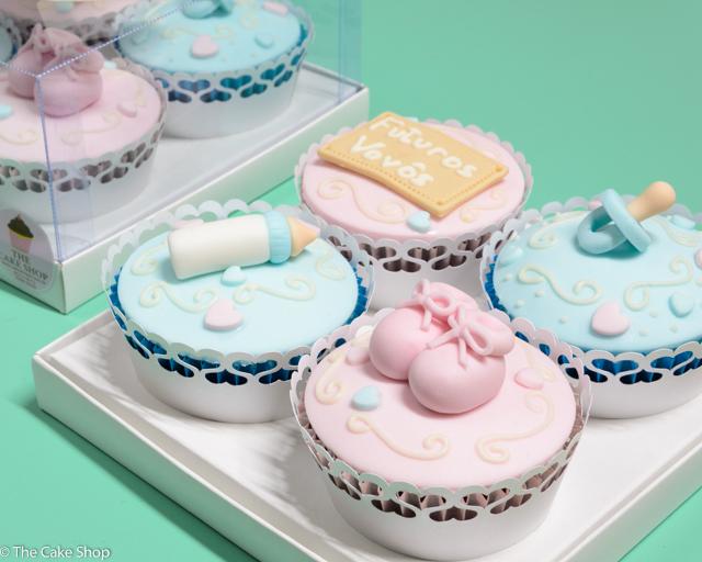 Cupcakes para Presente