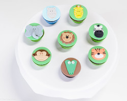 Cupcakes de Safári