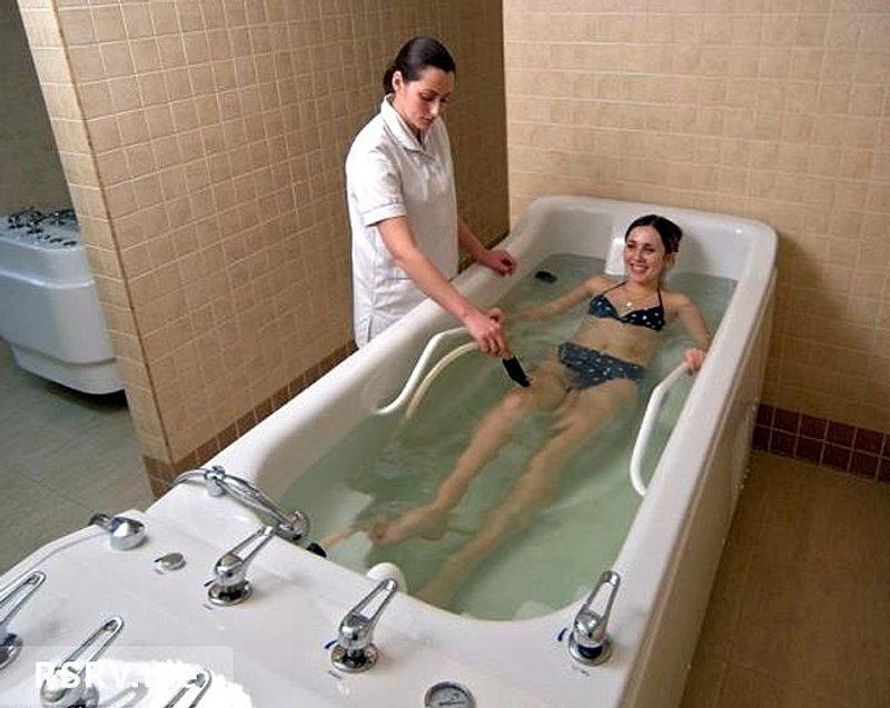 Подводный массаж при похудении