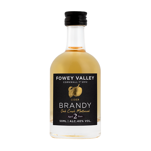 Oak aged Cider Brandy Miniature, Two year old, 50ml