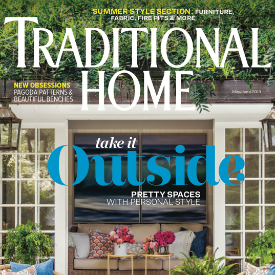 Traditional Home, May/June 2019