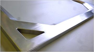 Esqueleto de Alumínio das telas de Filtração