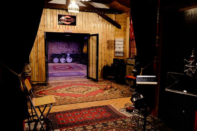 Live room 1 - 30m2 - studio nagrań Vintage Records