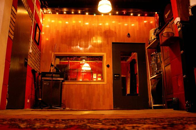Live room 1 - vocal booth - studo nagrań Vintage Records