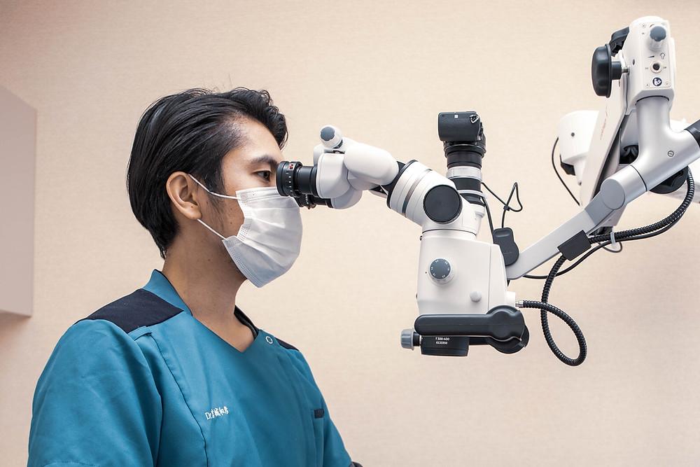 みやぎ歯科室 顕微鏡