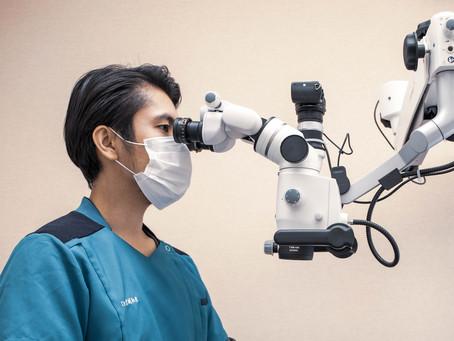 顕微鏡でできること(メタルコア除去)