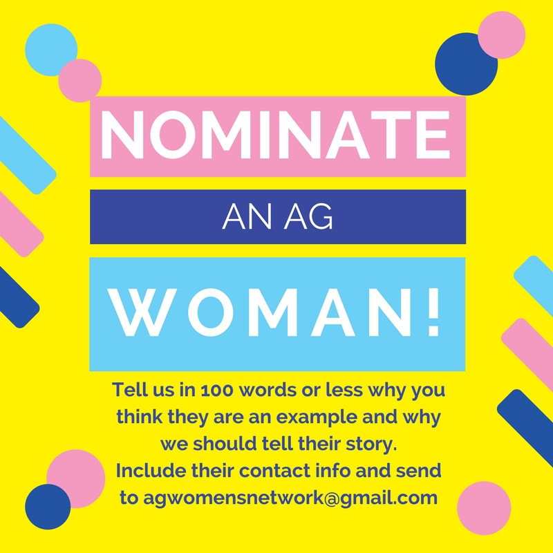 Nominate an awesome AG Women!!