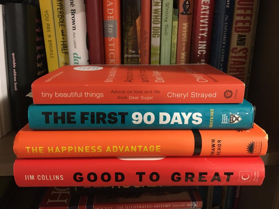 A Mentorship Reading List by an AWN Mentee