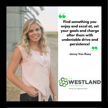 Making Waves in Agribusiness – Industry Spotlight: Jenny Van Rooy