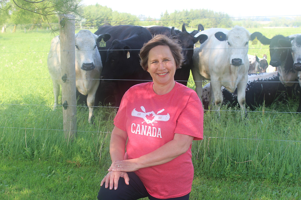 Is this a farmer? Joan Craig has recently retired from teaching and now raises beef cattle with her husband in Arthur, Ontario. Though being involved in the farm for her entire career, she just recently started identifying as a farmer.