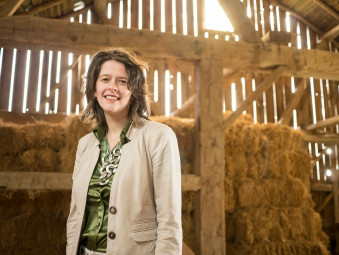 Krista Hulshof on finding her niche in 'Agritecture'