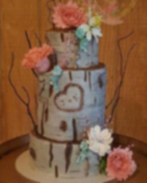 Cake, Rustic Cake