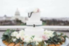 Elegant Wedding Cake, Washington D.C.