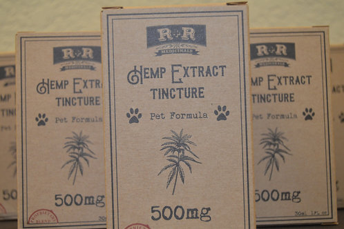 CBD Pet Oil Tincture 500mg
