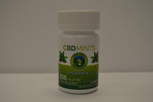 CBD Spearmint Mints 250mg