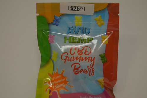 CBD Gummy Bears 150mg