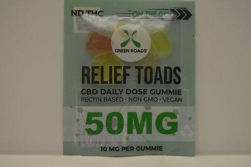 CBD Relief Toads 50mg