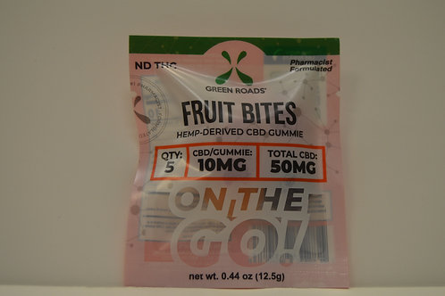 CBD Fruit Bites To-Go 50mg