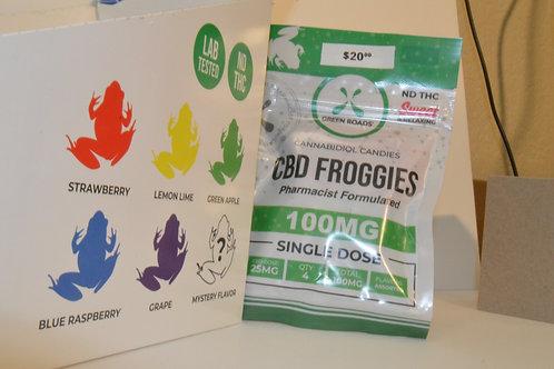 CBD Gummy Froggies