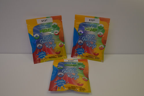 Avid Hemp CBD Gummy Rings