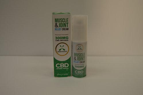 GreenRoads CBD Pain Cream 300mg