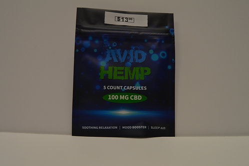 CBD Capsules 100mg