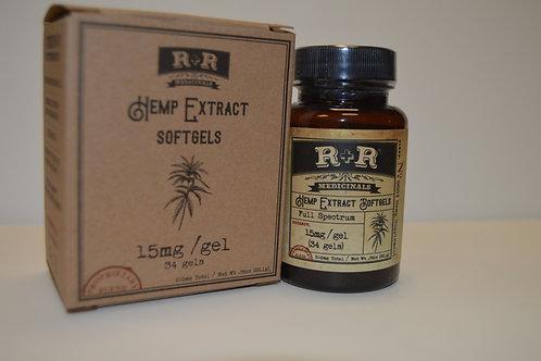 R+R Medicinals Soft Gels 510mg CBD