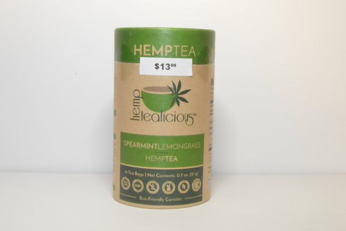 Hemp Tea Spearmint & Lemongrass