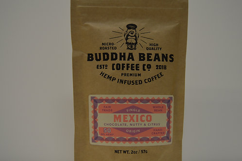CBD Coffee Mexico-Chocolate, Nutty & Citrus 2oz.