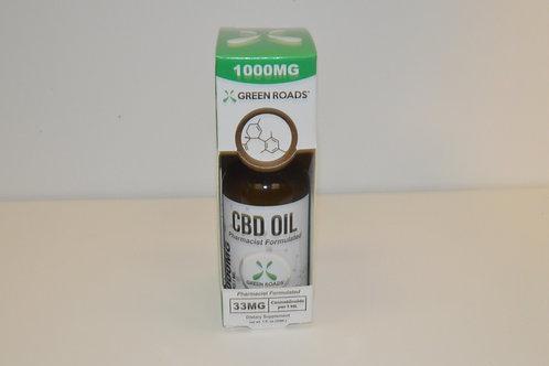 Green Roads CBD Oil 1000mg