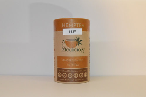 Hemp Tea Ginger & Turmeric