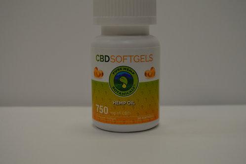 CBD Soft Gel Pills 750mg