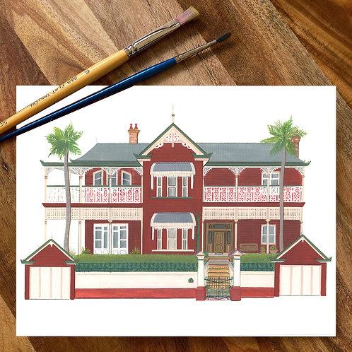 FEBRUARY Custom House Portrait- Deposit only