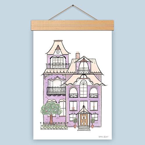 Victorian House Art Print