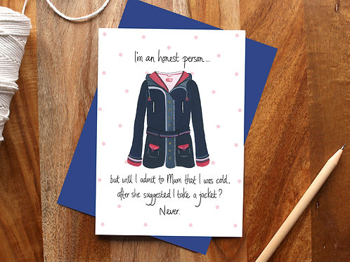 Take a Jacket Card