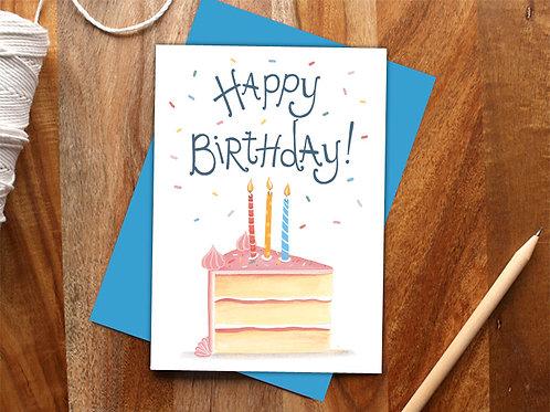 Birthday Sprinkles Card