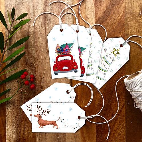 Christmas Novelty 2 Gift tags
