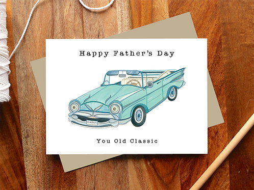 Father's Day Classic Card