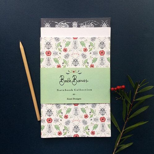 Beetle Business A5 Notebook Set