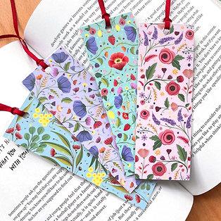Wildflower Bookmarks