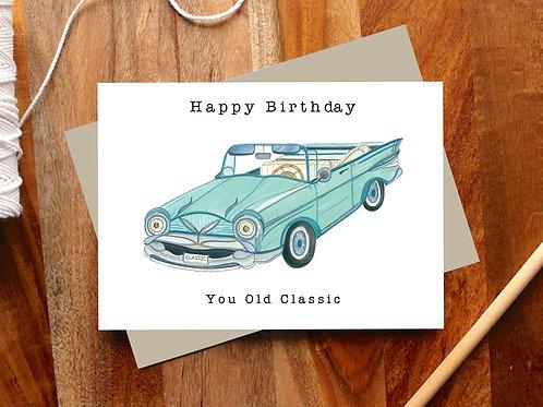 Happy Birthday Classic Card