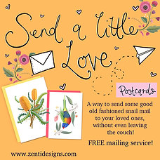 Send a little love - Postcard Mailing Service!