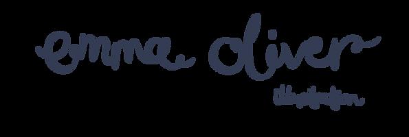 Emma Oliver Illustration Logo