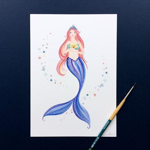 Mermaid Pink Hair