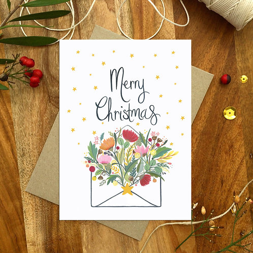 A Christmas Note -Christmas Card