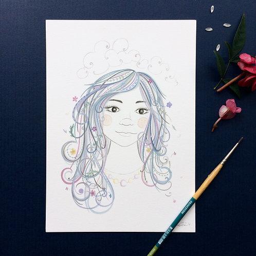 'The Dreamer' Art Print