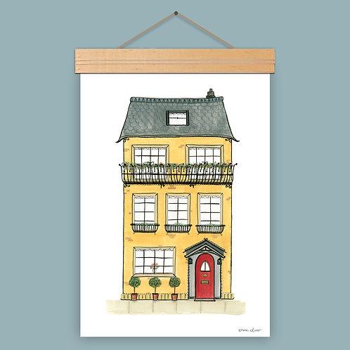 Dorothy Townhouse Art Print