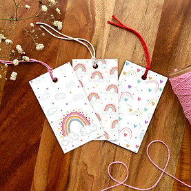Over the Rainbow Gift Tag set